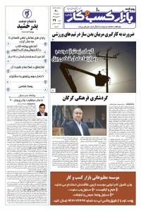 روزنامه بازار کسب و کار پارس 311