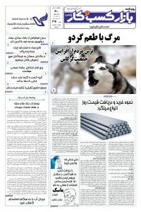 روزنامه بازار کسب و کار پارس شماره 391