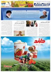 روزنامه بازار کسب و کار پارس شماره 136